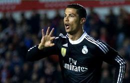 Siêu sao Ronaldo thiết lập những cột mốc ghi bàn khó tin