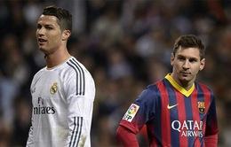 Ronaldo đang có nhiều hơn Messi 26 bàn trong sự nghiệp