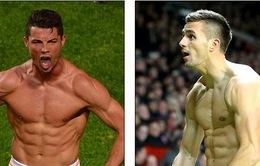 Bắt chước Ronaldo, Tadic gồng mình khoe thân hình chuẩn