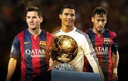 Messi, Ronaldo và Neymar đã làm được gì trong năm 2015?