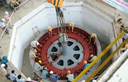 Lắp đặt thành công rotor tổ máy số 1 thủy điện Krong Nô 3