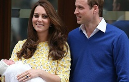 Nở rộ các sản phẩm ăn theo sự ra đời của công chúa Anh