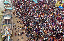 Giẫm đạp chết người tại lễ hội ở Ấn Độ