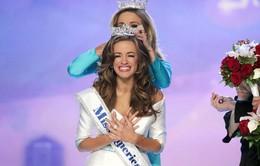 Khoe giọng hát thiên thần, người đẹp Georgia đăng quang Hoa hậu Mỹ 2016