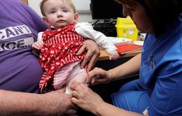 Mỹ khuyến cáo nên tiêm vaccine đầy đủ cho trẻ