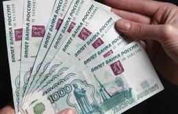 Đồng Ruble Nga giảm giá