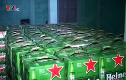 Phát hiện nhiều sản phẩm rượu, bia không rõ nguồn gốc xuất xứ