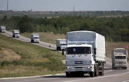 Đoàn xe cứu trợ thứ 13 của Nga tới miền Đông Ukraine