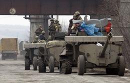 Ukraine: CHND Donetsk tự xưng hoàn tất rút vũ khí hạng nặng