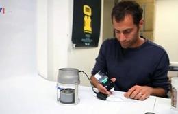 Sạc pin điện thoại bằng nhiệt năng