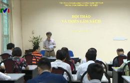 Khai mạc Hội Sách Viện Hàn lâm Khoa học và Công nghệ Việt Nam lần 2