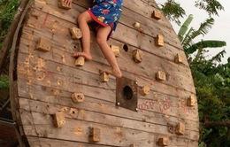 Think Playgrounds làm sân chơi miễn phí cho trẻ em Hà Nội