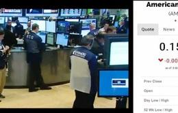 Cổ phiếu… 15 xu tại thị trường chứng khoán New York