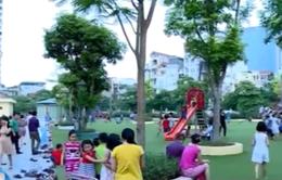 Sân chơi cộng đồng trong sân trường: Sáng kiến hiệu quả
