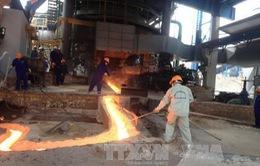 Sản xuất thép xây dựng đạt kỷ lục