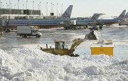Bão tuyết ở Chicago (Mỹ), hơn 1.000 chuyến bay bị hoãn