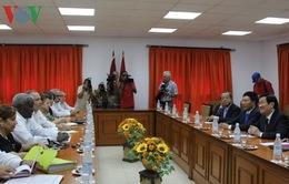 Chủ tịch nước Trương Tấn Sang hội kiến Chủ tịch Quốc hội Cuba