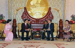 Tăng cường tình đoàn kết đặc biệt, hợp tác toàn diện Việt - Lào