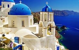 Ngây ngất với vẻ đẹp của Santorini