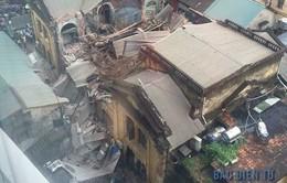 Nguyên nhân sập căn biệt thự cổ tại Hà Nội: Do mưa lớn?