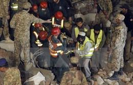Sập nhà máy sản xuất tại Pakistan khiến 18 người thiệt mạng