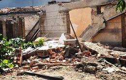 Sập tường khi đang dỡ nhà tại TP.HCM, 1 người tử vong