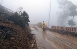 Đường Trường Sơn Đông qua Kon Tum bị sạt lở nhiều đoạn