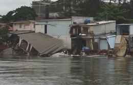 TP. HCM di dời khẩn cấp các hộ dân vùng sạt lở