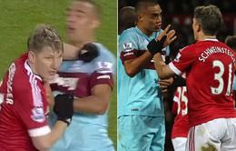 Schweinsteiger chính thức bị treo giò 3 trận vì lỗi đánh nguội