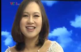 """Ngây ngất với giọng hát trong trẻo của """"Họa my"""" Khánh Linh"""