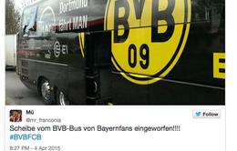 Xe buýt của Dortmund bị tấn công trước thềm đại chiến Bayern