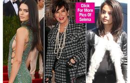 Kendall Jenner nhờ mẹ làm lành với Selena Gomez