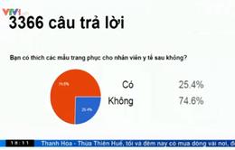 Hơn 3000 người tham gia khảo sát về trang phục cho cán bộ y tế