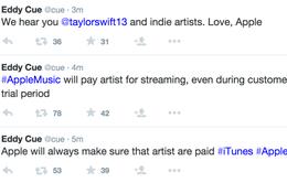 Apple chấp nhận nhượng bộ Taylor Swift