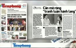 Báo chí toàn cảnh (22-28/6): Báo chí và những cuộc tranh luận ở hành lang Quốc hội