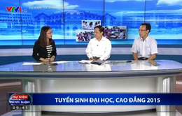 GS.TS Nguyễn Quang Dong: Kỳ xét tuyển Đại học, Cao đẳng 2015 đạt 4 thành tựu lớn