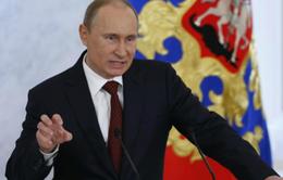 Tổng thống Putin: Đây là hành động 'đâm lén từ phía sau'