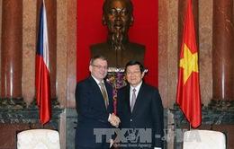 Chủ tịch nước tiếp Bộ trưởng Ngoại giao Cộng hòa Czech