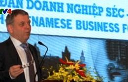 Tăng cường hợp tác kinh tế thương mại Việt Nam - Czech