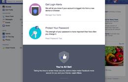 Facebook tăng cường bảo mật với Security Checkup
