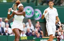 Vòng 3 Wimbledon 2015: Djokovic hạ Tomic, Serena thắng hú vía