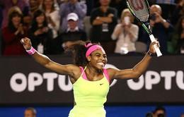 Serena nhảy cẫng ăn mừng chức vô địch Úc mở rộng 2015