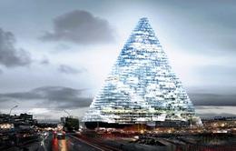 Sẽ xây dựng cao ốc hình kim tự tháp tại Paris