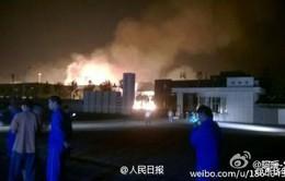 Trung Quốc: Nổ nhà máy hóa chất ở Sơn Đông, ít nhất 9 người bị thương