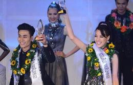 """Tuấn Anh - Khả Trang đoạt Giải Vàng """"Siêu mẫu 2015"""""""
