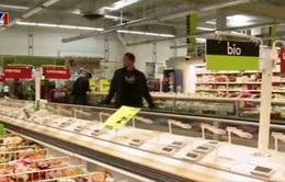 Pháp đẩy mạnh chống lãng phí thực phẩm tại các siêu thị