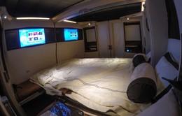 Ngất ngây trên khoang thượng hạng của Singapore Airlines