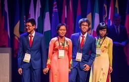 Bốn học sinh thi Olympic Sinh học quốc tế đều giành giải