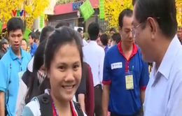 TP.HCM: Hỗ trợ xe đưa hơn 2.000 sinh viên khó khăn về quê ăn Tết
