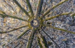 Ngắm các danh thắng thế giới tuyệt đẹp từ góc nhìn trên cao